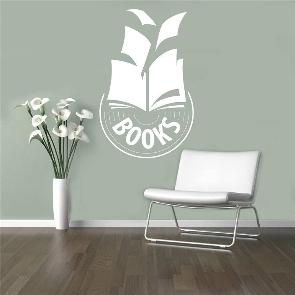 Book Library Decal Education School OFFicial SALENEW very popular! shop Wall Indo Stickers Classroom