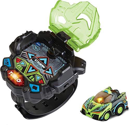 Vtech Turbo Force Racers - Race Car verde, auto radiocomandata, multicolore