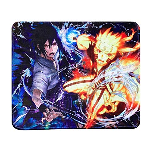 Naruto Mouse Pad- Anime Mouse Pad for Kids HD Printed Mouse Pad Large Mouse Pad ( 12 x 12 x 1.1 inch)