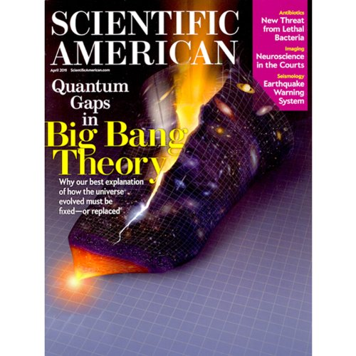 Scientific American: Seconds before the Big One cover art
