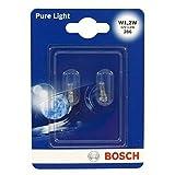 Bosch Lampes Pure Light W1,2W 12V 1,2W (Ampoule x2)