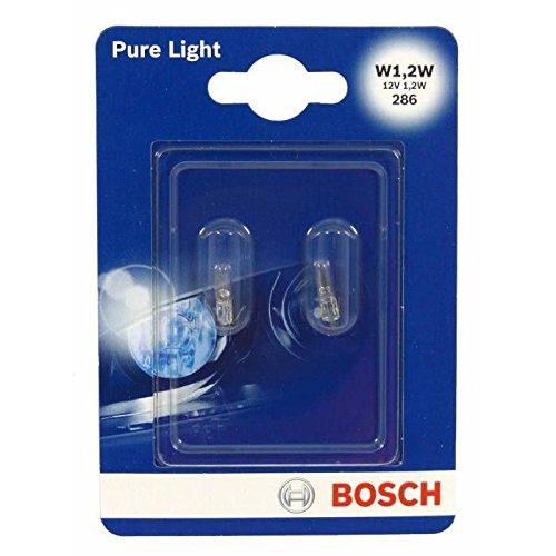 Bosch 1987301024 Pure Light - Bombilla 1,2W para coche