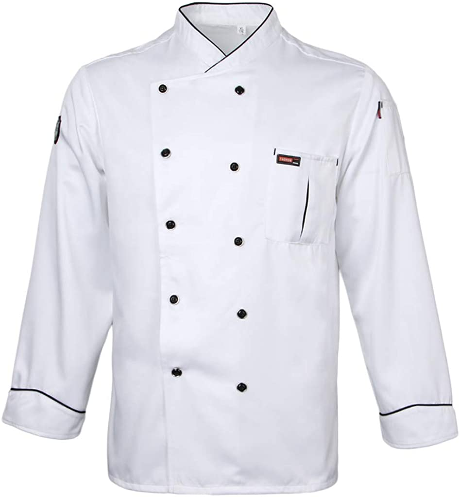 Kloware Long-Sleeved Max 49% OFF Max 40% OFF Chef's Coat for Women and Jacke Men