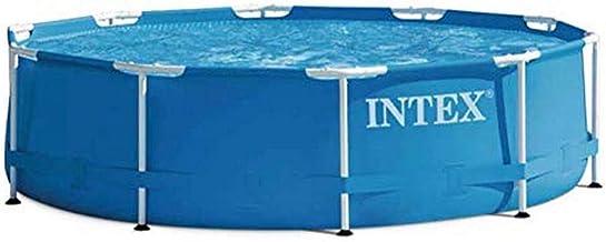 Intex Aufstellpool Frame Pool Set Rondo, Blau, Durchmesser 305 x 76cm
