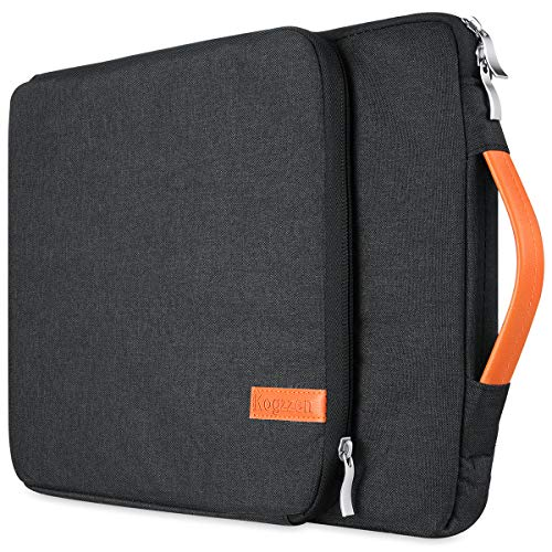 Kogzzen 11 11.6 12 Inch Laptop Sleeve Tablet Case Compatible with MacBook 12   MacBook Air 11.6   Surface Pro, Waterproof Notebook Bag, Chromebook Dell Samsung HP Acer Asus - Black