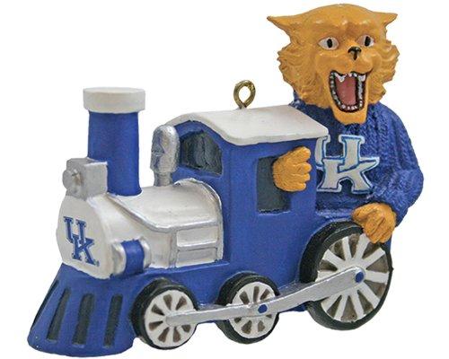 NCAA Kentucky Wildcats Mascot Train Ornament