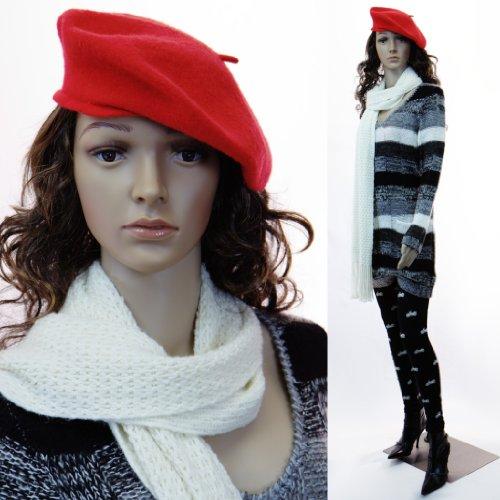EurotonDisplay weibliche Schaufensterpuppe mit 2 Perücken gratis SF beweglich (SF-5) Female Mannequin