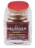 Zafferano premium in pistilli con Denominazione di origine La Mancha (Spagna) in Vasetto di vetro (1 GR)