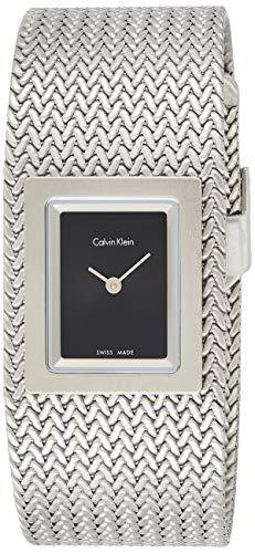 Calvin Klein Reloj Analógico para Mujer de Cuarzo con Correa en Acero Inoxidable K5L13131