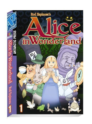New Alice In Wonderland Color Manga Volume 1