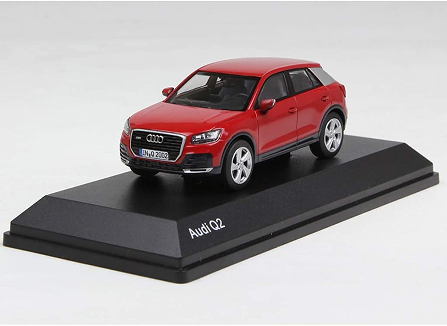 GAOQUNTOY 1 43 New Audi Q2 Alloy Car Model Decoration Collection Gift (color   Red, Size   9.7cm4.1cm3.5cm)