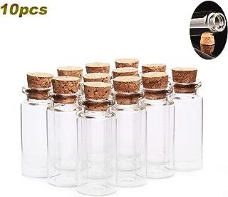 10pcs Botellas de Plastico 240ml con Tapas de Rosca Dispensadores de Ketchup Mostaza Vinagre Salsas Aceite White