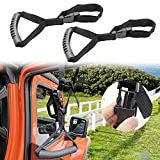MOEBULB Car Grab Handle Adjustable Standing Aid Safety Handle Vehicle Support Portable Nylon Grip Handle Car Assist Device Black 2-Pack