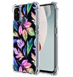 Starhemei for OnePlus Nord N100 case, Case for OnePlus Nord N100 5G, Shock Absorption Flexible Gasbag Protection Rubber Soft TPU Anti Dropping Phone Case Cover for OnePlus Nord N100 5G (Leaves)