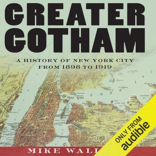 Greater Gotham audiobook cover art