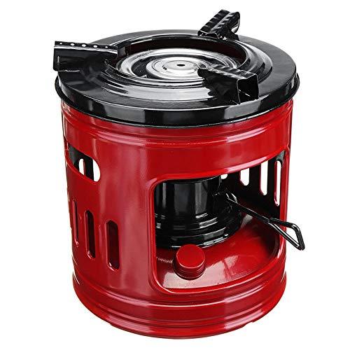 Select Zone Hornillo portátil con 8 mechas de queroseno para estufas de camping