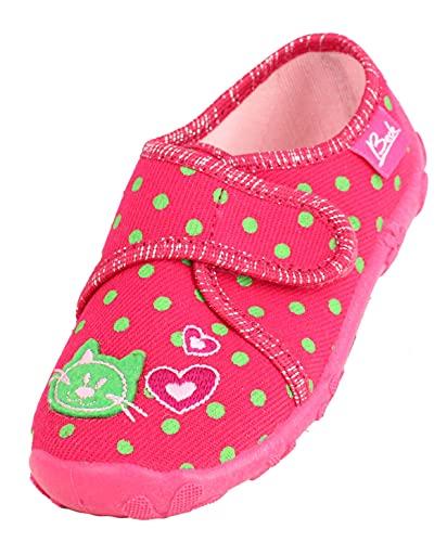 Beck Kätzchen, Zapatillas de Estar por casa Niñas, Rosa (Pink 06), 32 EU