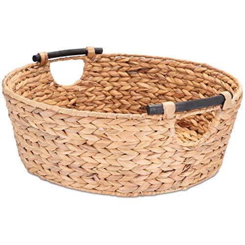 Cestas De Mimbre Grandes Con Asas cestas de mimbre  Marca Decorasian