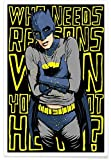 Juniqe® Superhelden & fiktive Charaktere Poster 80x120cm -