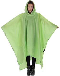 RYY Raincoats Rain Cover,Outdoor Multi-function Raincoat Can Be Used To Sit On The Mountain Poncho Backpack Raincoat Men A...