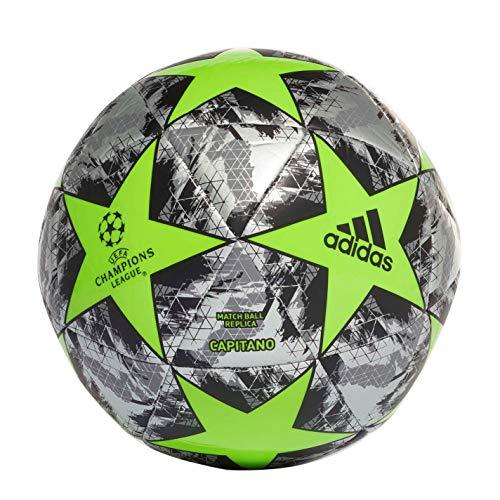 UEFA 2020 Champions League Glider - Pallone da calcio, misura 3, colore: Verde