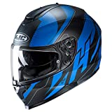 HJC Helmets C70 Helmet - Boltas (Medium) (Blue/Black)