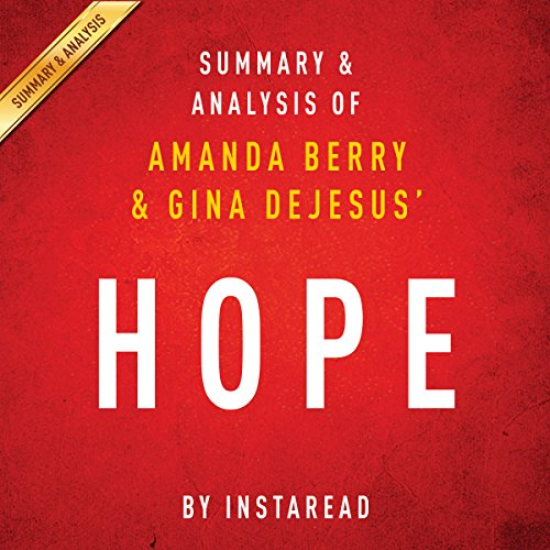 Hope by Amanda Berry and Gina DeJesus cover art