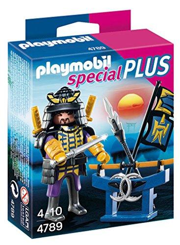 PLAYMOBIL Especiales Plus -Samurái con Estante de Armas, playset (4789)