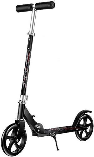 ventas en linea Patinete Aluminio -Plegable Monopatín Scooter Scooter Scooter para Ciudad Altura Ajustable Freestyle City Kick Scooter Rueda Grande para Adultos y Niños  ¡No dudes! ¡Compra ahora!