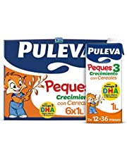 Puleva Peques Leche de Crecimiento Tipo 3 con Cereales - pack 6 x 1Lt