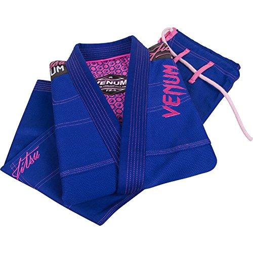 Venum Mujer Kimono Challenger 2.0BJJ GI, de la UE, año, Mujer, Color Azul Real, tamaño F1