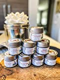 BBQ Bucket & Pit Master Gift Set | 8 Gourmet Seasonings & Salts In A Handsome Gift Tin | All Natural, Non GMO | Artisanal Spice Blends & Infused Sea Salts | Small Batch | Gustus Vitae