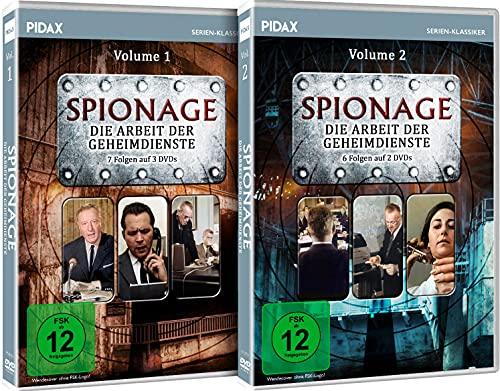 Spionage - Die Arbeit der Geheimdienste - Gesamtedition / Die komplette 13-teilige Serie auf 5 DVDs (Pidax Serien-Klassiker)