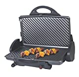 DCG Eltronic ST3300 Grill Da tavolo Elettrico 1800W Nero barbecue e bistecchiera