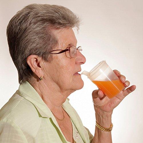 Bicchiere con beccuccio da 250 ml, trasparente