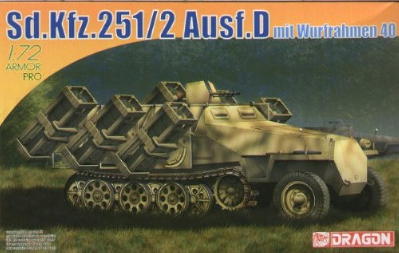 saludable Sd.Kfz.251 2 Ausf.D mit Wurfrahmen Wurfrahmen Wurfrahmen 40 Tank 1 72 Plastic Kit Model 7310  últimos estilos