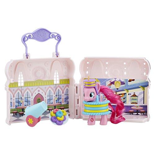 My Little Pony – Explore Equestria – Magasin de Donuts de Pinkie Pie – Décor + 1 Figurine