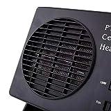 ZChun - Ventilador eléctrico y Calefactor portátil 2 en 1 para Coche, 12 V, 300 W, Velocidad de Calentamiento rápida
