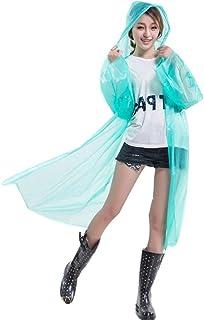 Raincoat, Emergency Waterproof Rain Ponchos with Hoods, for Family Travel, Fishing, Picnic, Walking, Camping, Hiking, 130 * 100cm, 1pcs