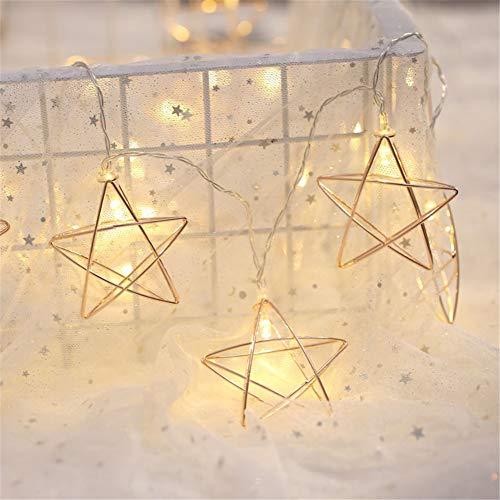 DC CLOUD Fairy Lights Guirnalda Luces Luces de Hadas de la batería de Luces Led para decoración del hogar Luces de Hadas para Dormitorio 3m