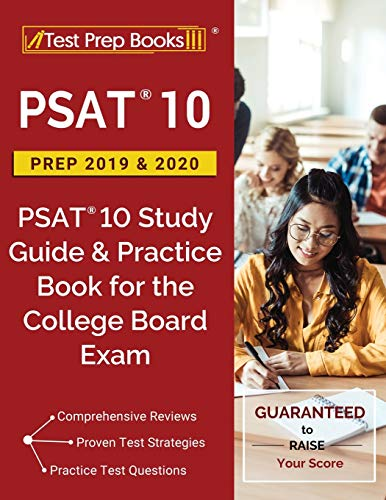 PSAT 10 Prep 2019 & 2020: PSAT 10 Study Guide & Practice Book for the College Board Exam