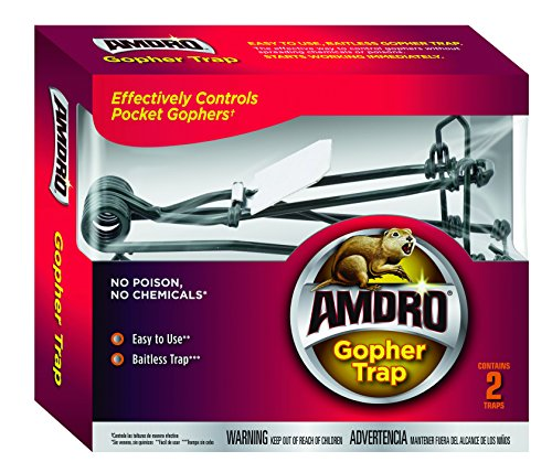 Amdro 100510682 Gopher Trap 2 Pack Clear