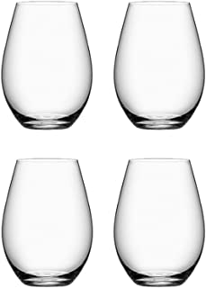Orrefors More Stemless Wine Glass, Set of 4