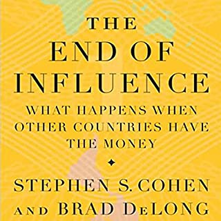 The End of Influence audiobook cover art