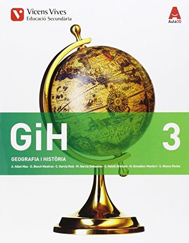 GiH 3. Geografia I Història. Catalunya. Aula 3D - 9788468231976