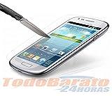 1 Protector Cristal Templado Compatible con Samsung Galaxy S3 III i9300 Neo I9301