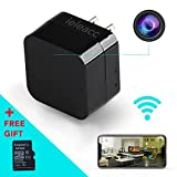 Hidden Camera - HD 1080P - Motion Detection - WiFi Remote View - USB Charging Phones - Alarm Message 32GB SD Card - Home Mini Security – Nanny Cam - Spy Camera