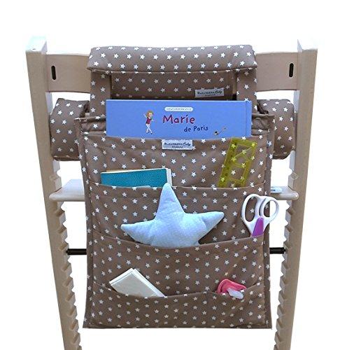 Blausberg Baby - Utensilo pour Stokke Tripp Trapp chaise haute - taupe Žtoile