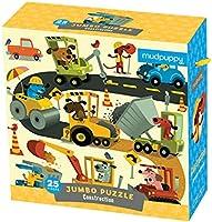 Mudpuppy Construction Jumbo Puzzle