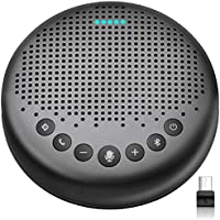 eMeet Luna USB Conference Bluetooth Speaker Phone with Dongle